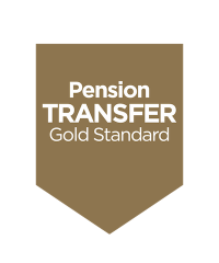Pension Transfer Gold Standard _Gold_CMYK copy logo 400 wide